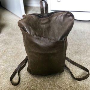 Handbags - Leather Artisan Adjustable Leather Backpack/Bag